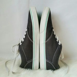 2ccbddd098334f Vans Shoes - Dark Grey and Blue   Green Slip On Vans